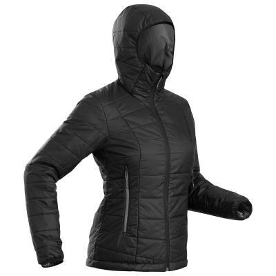 Černá pánská turistická bunda Forclaz - velikost XXL