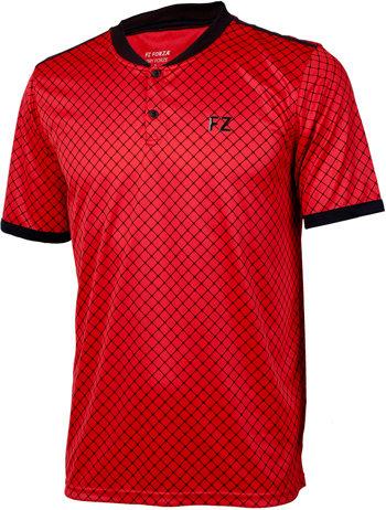 Červené pánské funkční tričko s krátkým rukávem FZ Forza