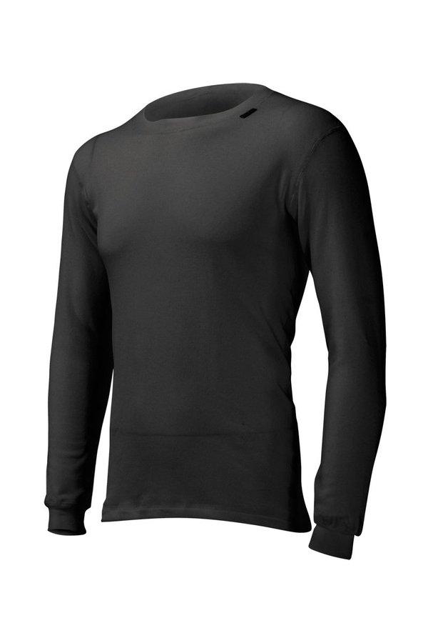 Černé pánské funkční tričko s dlouhým rukávem Lasting - velikost S