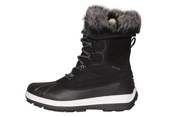 Černé dámské zimní boty Alpine Pro