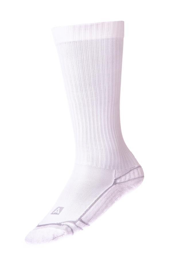 Bílé vysoké ponožky Alpine Pro - velikost S