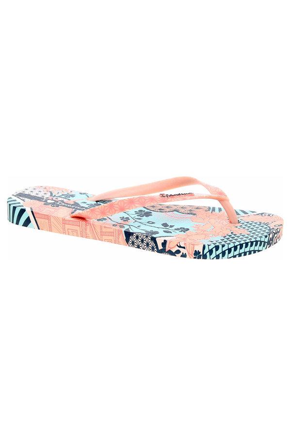 Růžové dámské pantofle Ipanema