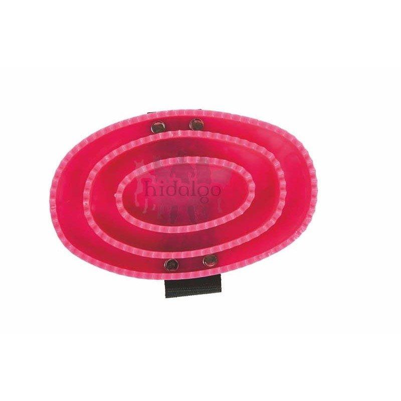 Růžové plastové hřbílko HKM