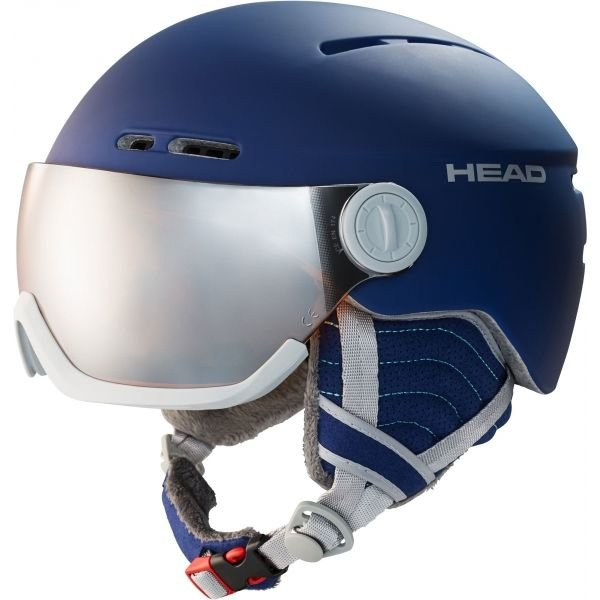 Modrá dámská lyžařská helma Head - velikost 54-57 cm