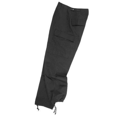 Kalhoty - Kalhoty US BDU polní rip-stop ČERNÉ