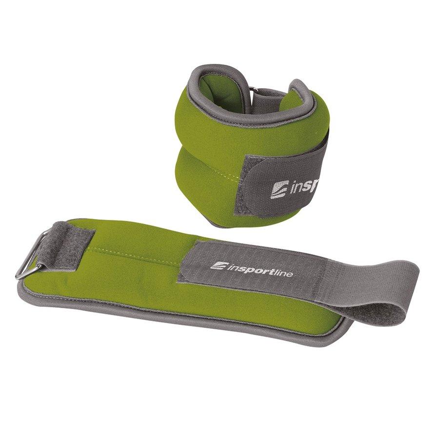 Zelené závaží na ruce a nohy inSPORTline - 1 kg