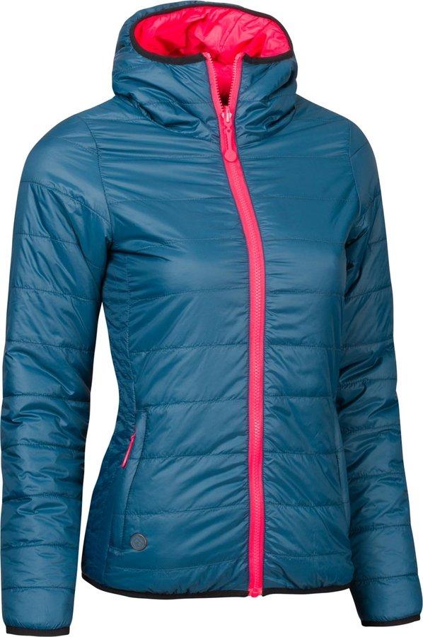 Modrá zimní dámská bunda s kapucí Woox - velikost 36