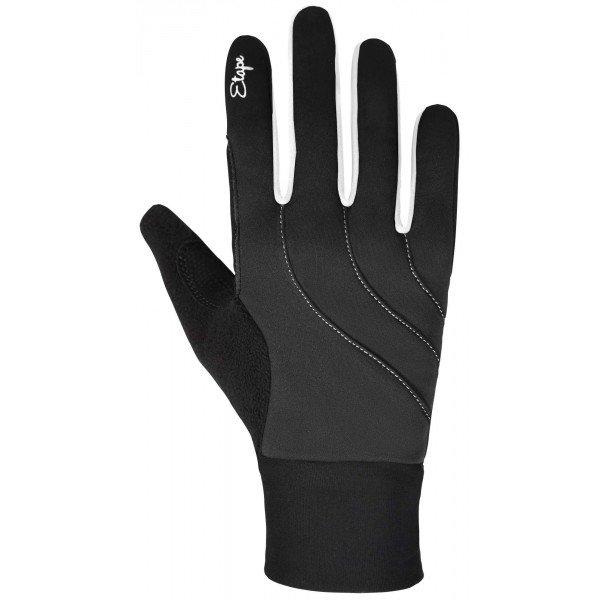 Šedé dámské rukavice na běžky Etape