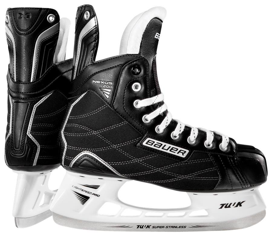 Pánské hokejové brusle Nexus 200, Bauer - velikost 45,5 EU