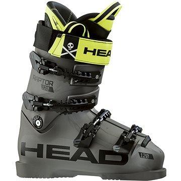 Šedé pánské lyžařské boty Head - velikost vnitřní stélky 27 cm
