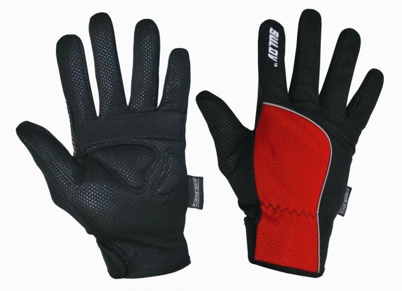 Rukavice na běžky - Sulov běžkařské rukavice červené - S