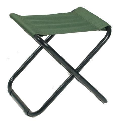 Kempingová židle - Židle CAMPING skládací ZELENÁ