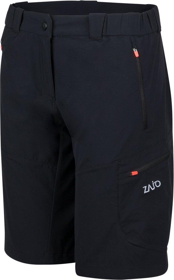 Černé sportovní dámské kraťasy Zajo - velikost S