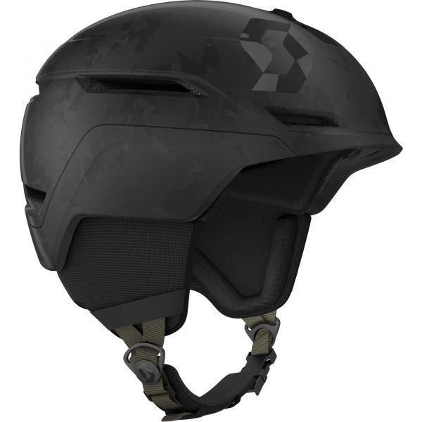 Černá lyžařská helma Scott