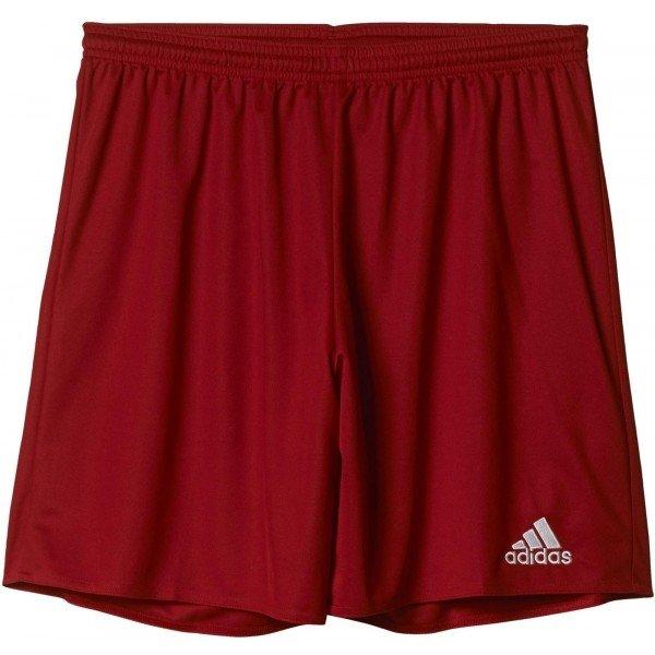 Červené pánské fotbalové kraťasy Adidas