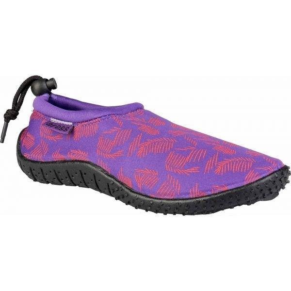 Fialové dámské boty do vody Aress