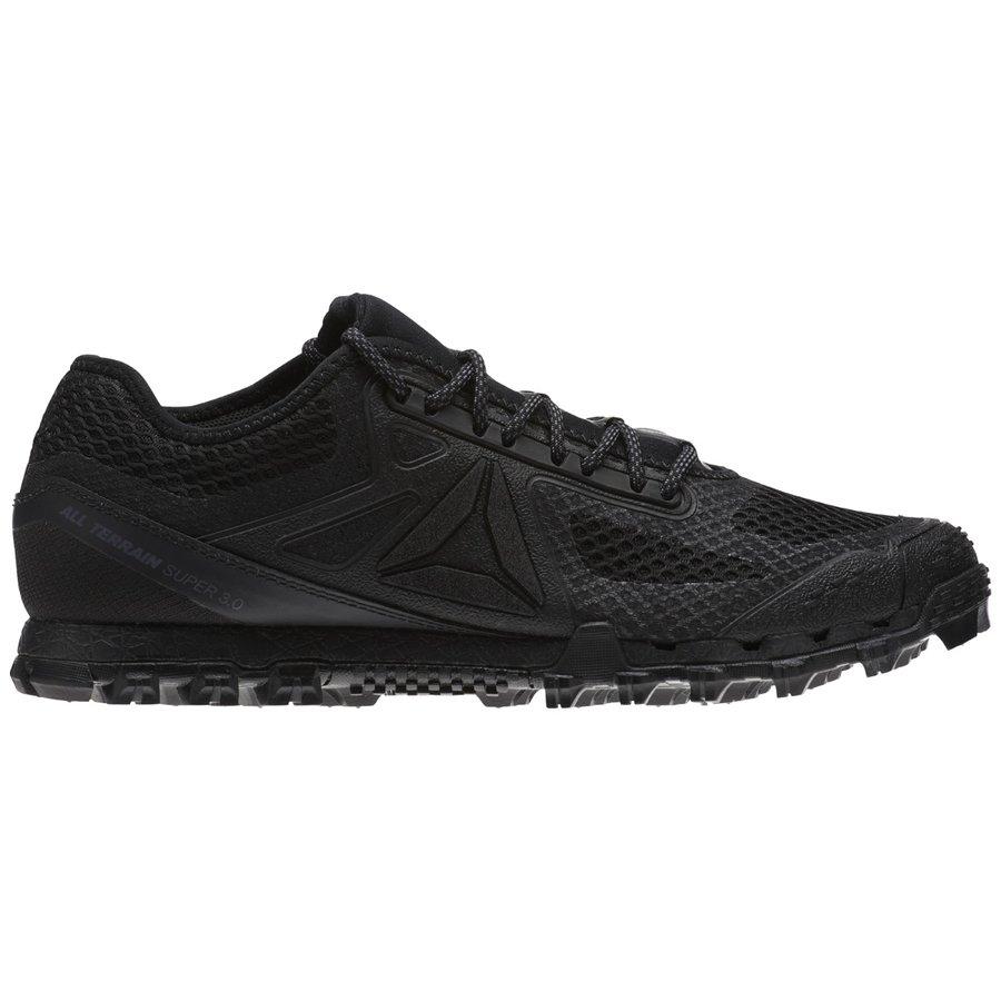 Černé pánské běžecké boty Super 3, Reebok - velikost 42,5 EU