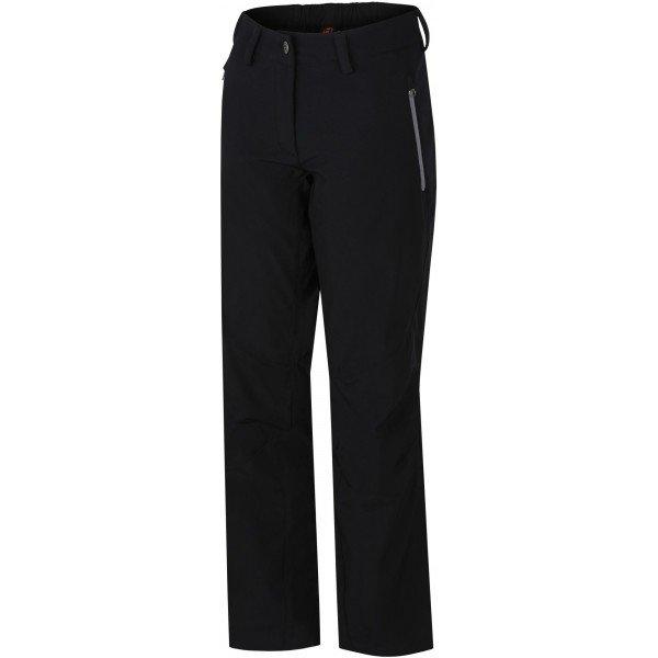 Černé softshellové dámské kalhoty Hannah - velikost 36