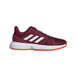 Červená pánská tenisová obuv CourtJam Bounce, Adidas