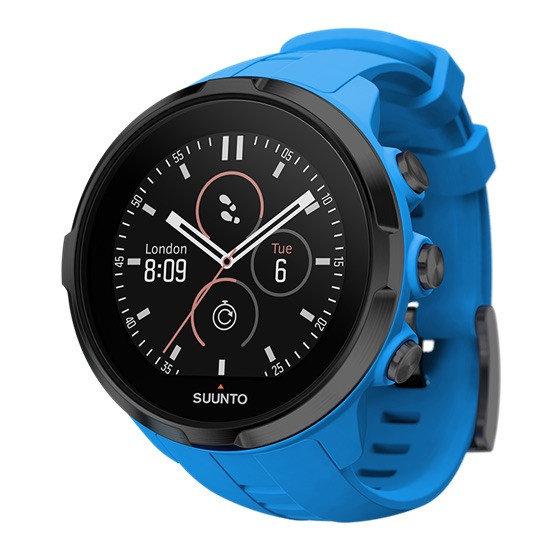 Modré analogové dámské hodinky Spartan Sport Wrist, Suunto