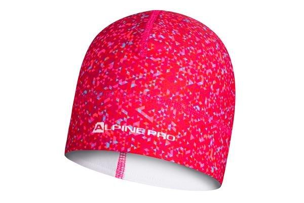 Růžová zimní čepice Alpine Pro - velikost L