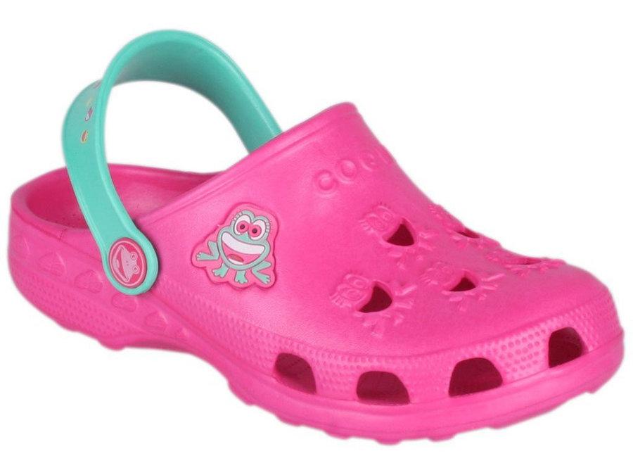 Růžové dívčí sandály Coqui