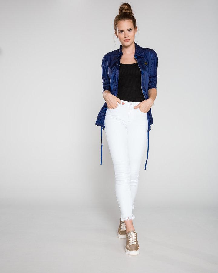 Modrá dámská bunda Blauer - velikost L