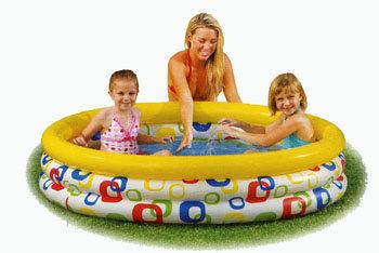 Dětský nafukovací nadzemní kruhový bazén