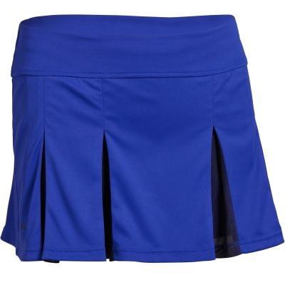 Modrá dívčí tenisová sukně Artengo - velikost 164