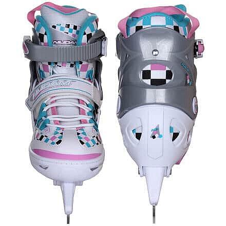 Lední brusle - dětské brusle 3122 nastavitelné velikost (obuv / ponožky): EU 37-40