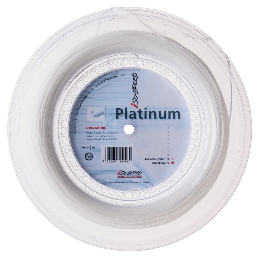 Tenisový výplet Platinum, Isospeed - průměr 1,25 mm a délka 200 m