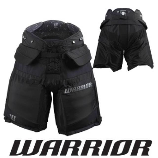 Černé brankářské hokejové kalhoty - intermediate Warrior - velikost S
