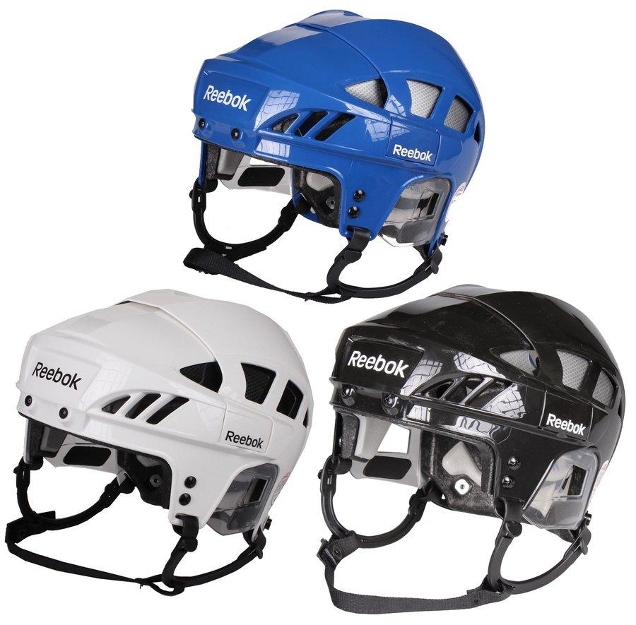 Hokejová helma - Reebok 7K bílá S