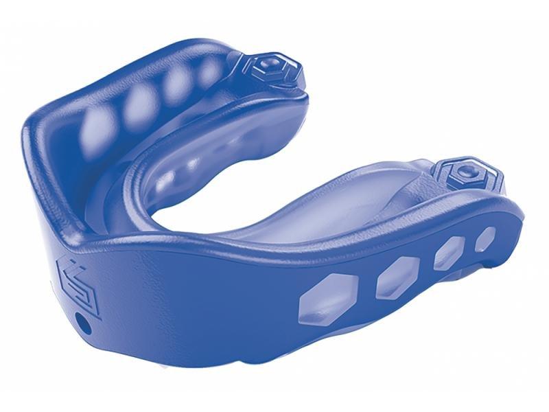 Modrý chránič na zuby Shock Doctor