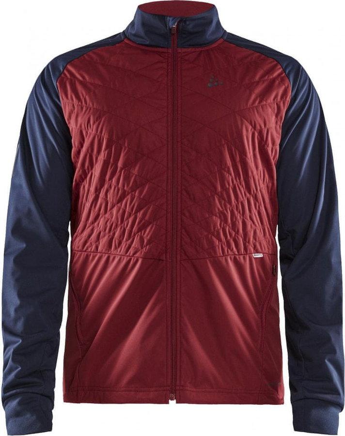 Červeno-modrá pánská bunda na běžky Craft