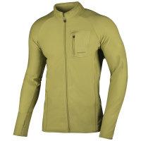 Mikina - Pánská mikina Tarr zip M XL, žlutozelená