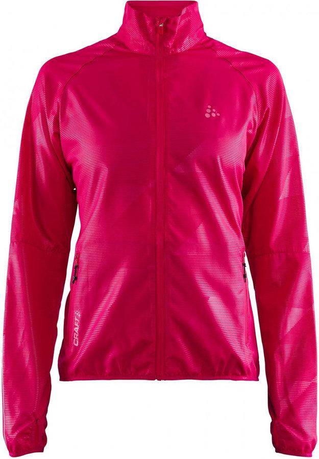Růžová dámská bunda Craft