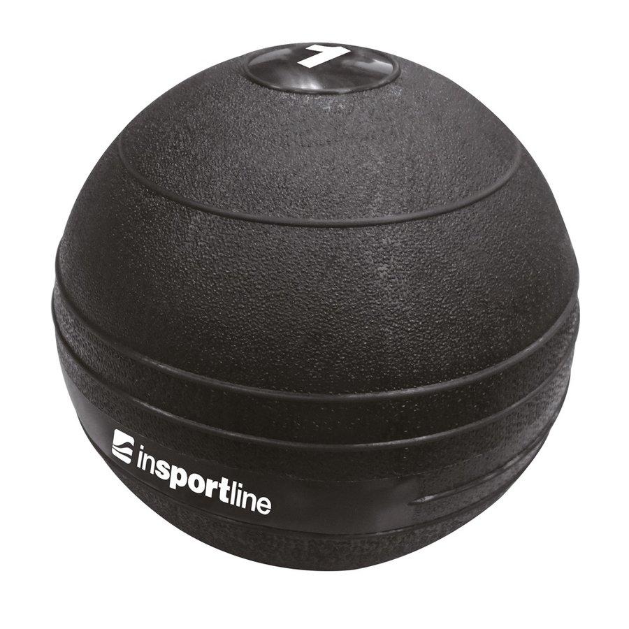 Medicinbal bez úchopů inSPORTline - 1 kg