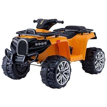 Dětské elektrické autíčko - ALLROAD 12V, oranžová(8586019942255)
