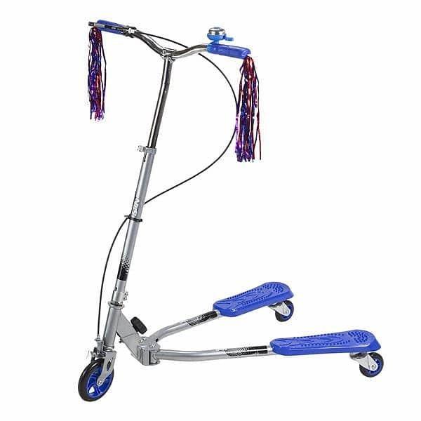 Modrá koloběžka FLIKER, Nils Extreme - nosnost 75 kg