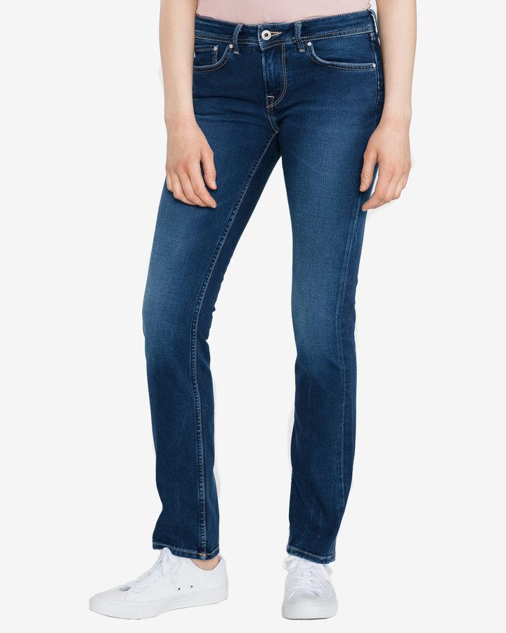 Modré dámské džíny Pepe Jeans