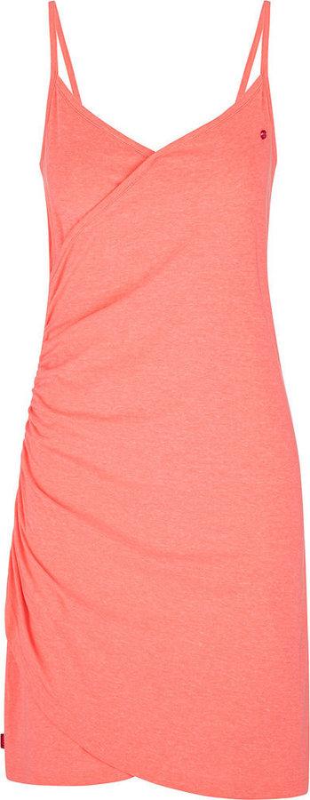 Růžové dámské šaty Loap - velikost S