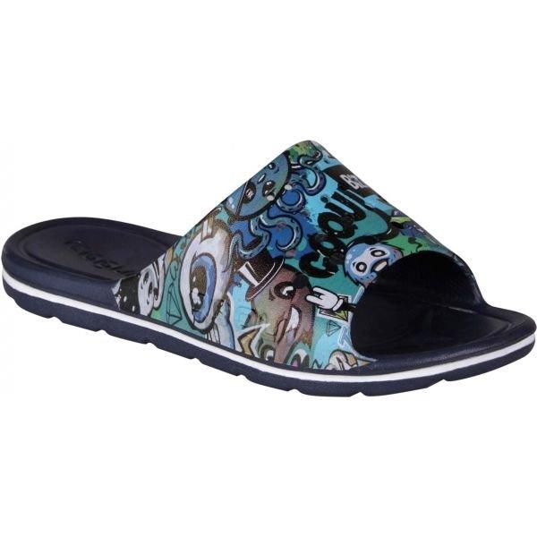 Modré dětské pantofle Coqui - velikost 28-29 EU