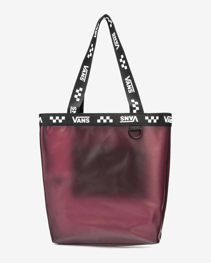 Černo-růžová dámská kabelka Vans