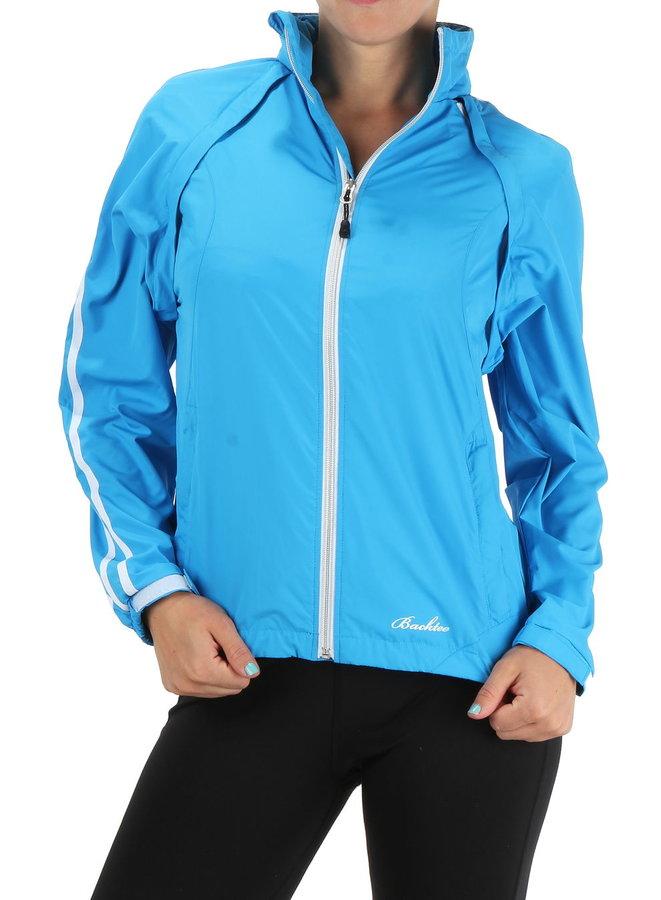 Modrá dámská golfová bunda Backtee - velikost M