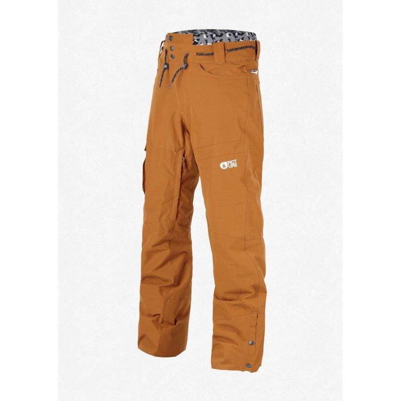 Oranžové pánské snowboardové kalhoty Picture