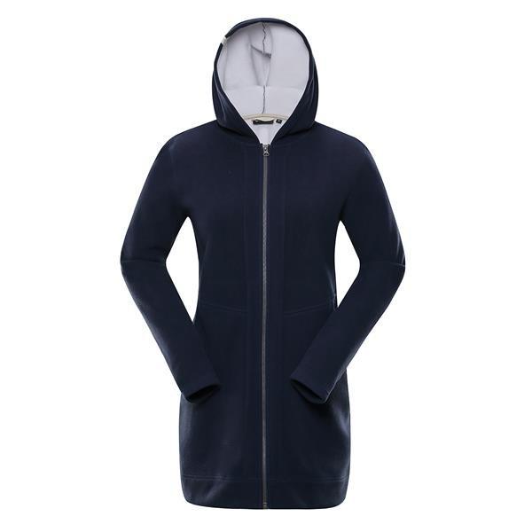 Modrý dámský kabát Alpine Pro - velikost S-L