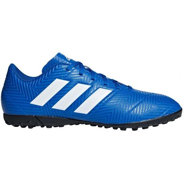 Modré pánské kopačky turfy Adidas - velikost 43 1/3 EU
