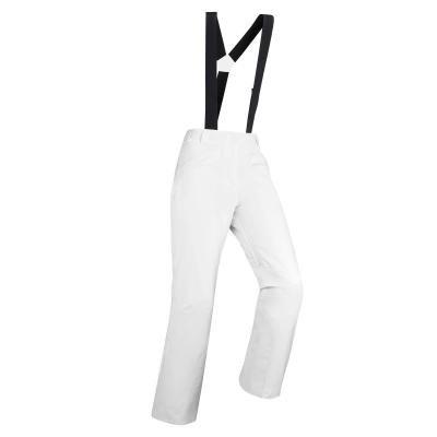 Bílé dámské lyžařské kalhoty Wed'ze