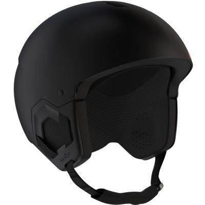 Černá dětská lyžařská helma Wed'ze